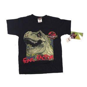 Other - Vintage Jurassic Park movie fear factor t shirt